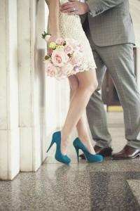 Svatební lodičky nemusí být pouze bílé