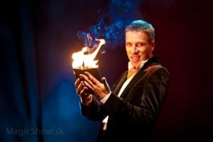 Známí slovenský kouzelník Petr Šesták