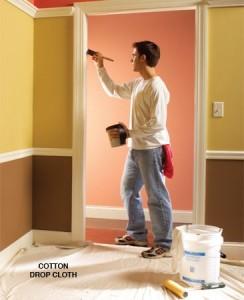 Malování bytu barevně a kreativně!