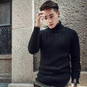 černý svetr