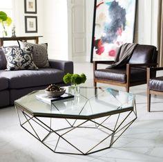 Konferenční stolek jako součást obýváku